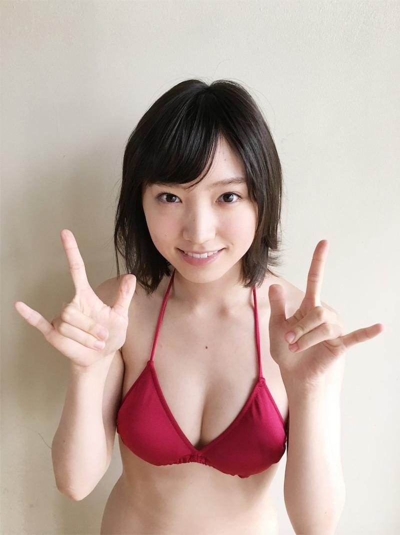 【太田夢莉グラビア画像】ショートヘアが似合って可愛い元アイドル 64