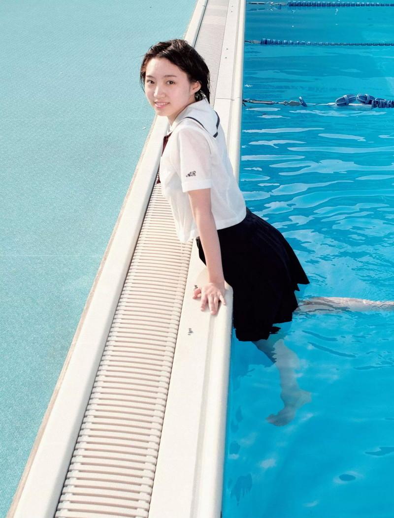 【太田夢莉グラビア画像】ショートヘアが似合って可愛い元アイドル 70