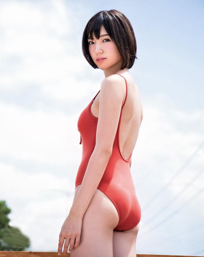 【太田夢莉グラビア画像】ショートヘアが似合って可愛い元アイドル 75