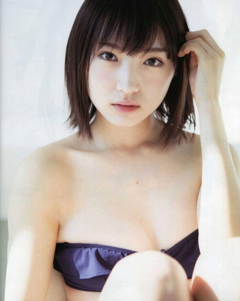 【太田夢莉グラビア画像】ショートヘアが似合って可愛い元アイドル 78