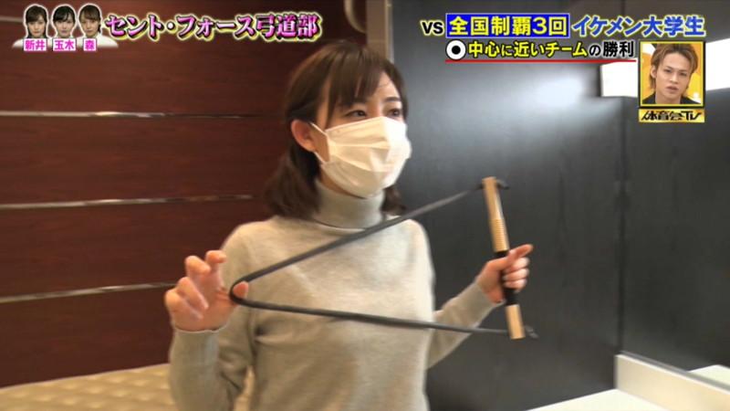 【女子アナキャプ画像】インコ大好きフリーアナウンサーの食レポとチラリw 09