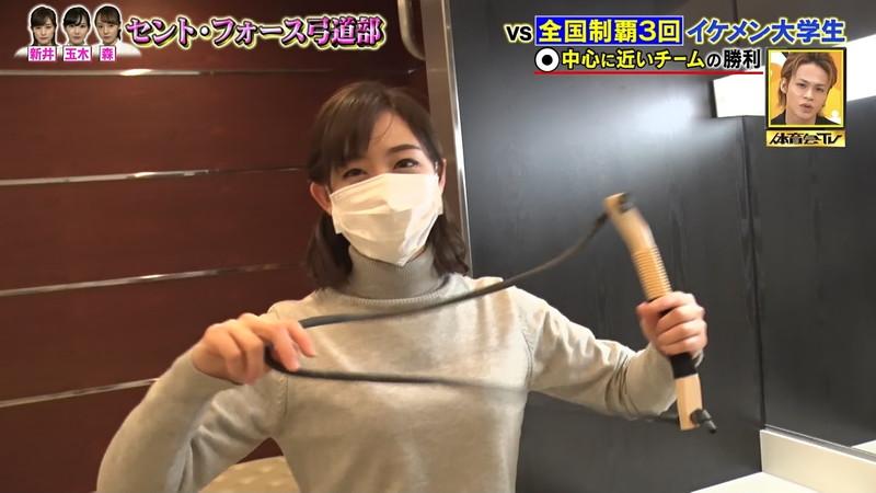 【女子アナキャプ画像】インコ大好きフリーアナウンサーの食レポとチラリw 10