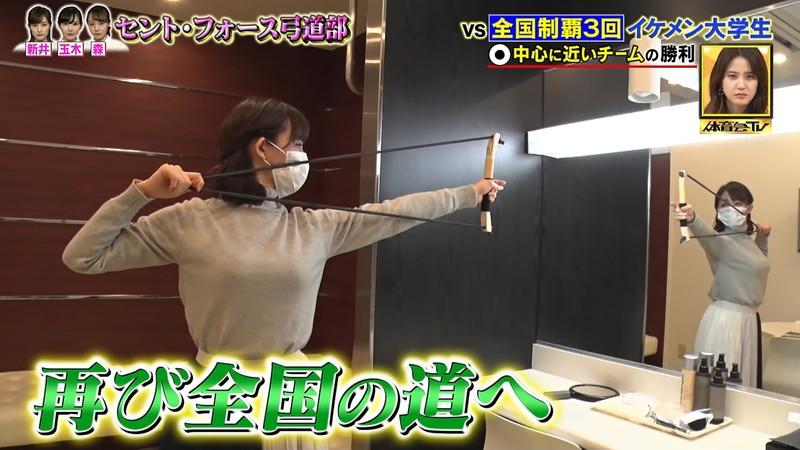 【女子アナキャプ画像】インコ大好きフリーアナウンサーの食レポとチラリw 11