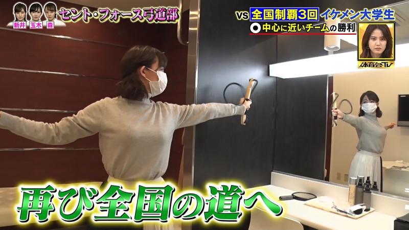 【女子アナキャプ画像】インコ大好きフリーアナウンサーの食レポとチラリw 12