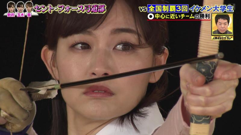 【女子アナキャプ画像】インコ大好きフリーアナウンサーの食レポとチラリw 16