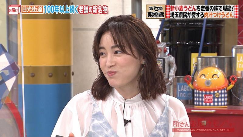 【女子アナキャプ画像】インコ大好きフリーアナウンサーの食レポとチラリw 27