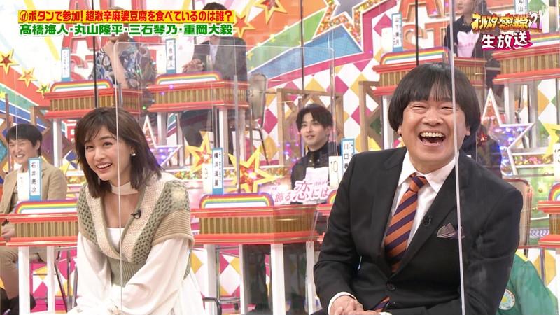 【女子アナキャプ画像】インコ大好きフリーアナウンサーの食レポとチラリw 39