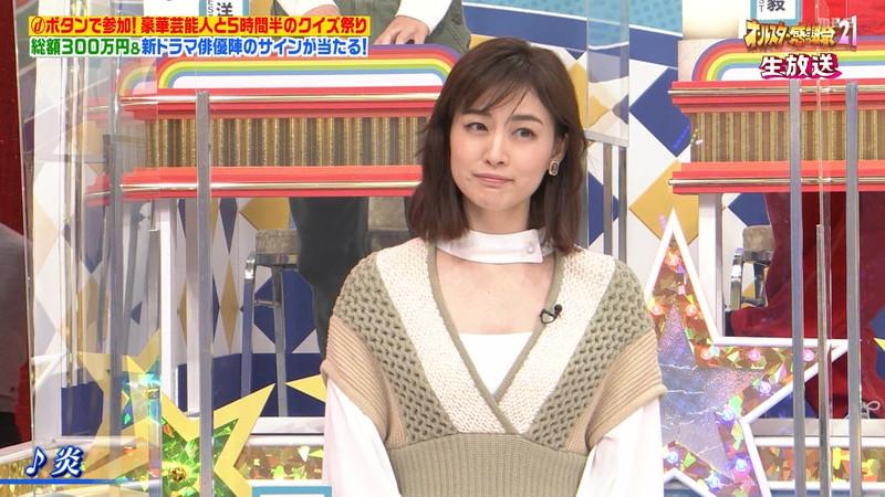 【女子アナキャプ画像】インコ大好きフリーアナウンサーの食レポとチラリw 42