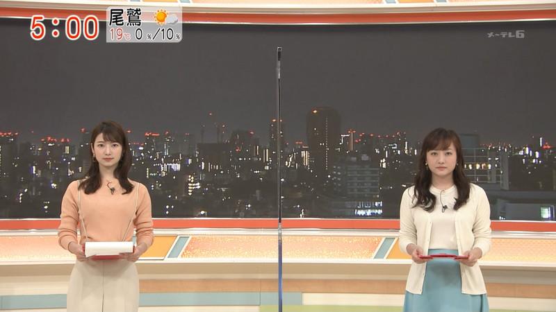 【女子アナキャプ画像】インコ大好きフリーアナウンサーの食レポとチラリw 49