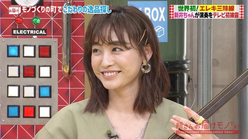 【女子アナキャプ画像】インコ大好きフリーアナウンサーの食レポとチラリw 57