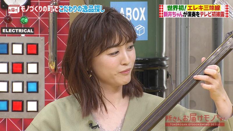 【女子アナキャプ画像】インコ大好きフリーアナウンサーの食レポとチラリw 58