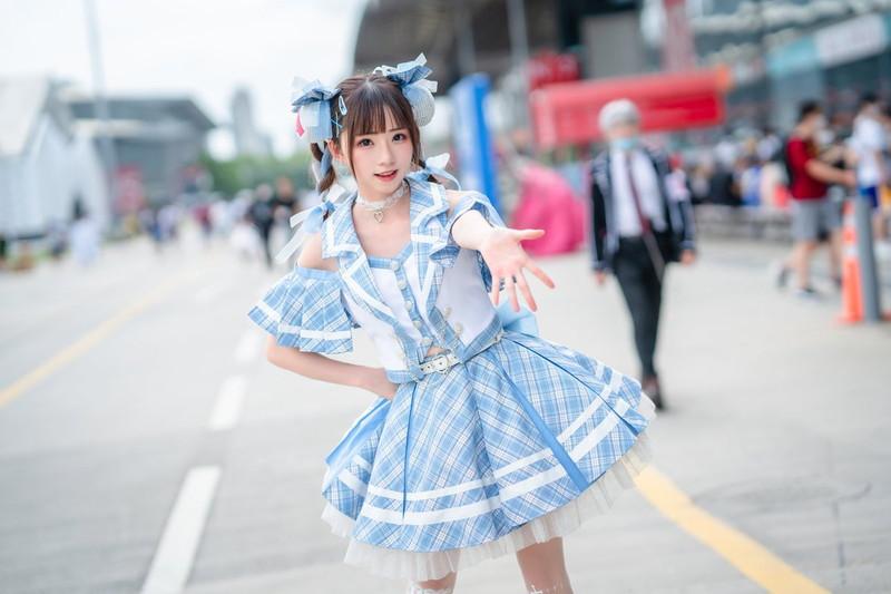 【コスプレエロ画像】最近注目株の中国発激かわコスプレイヤー綺太郎 44