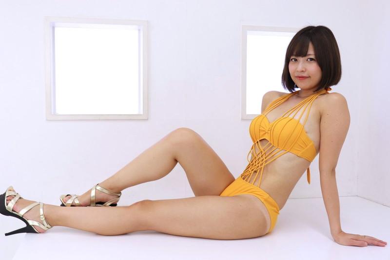 【月野夏海エロ画像】Gカップ巨乳の童顔系グラドルがセクシーに育ったね 15