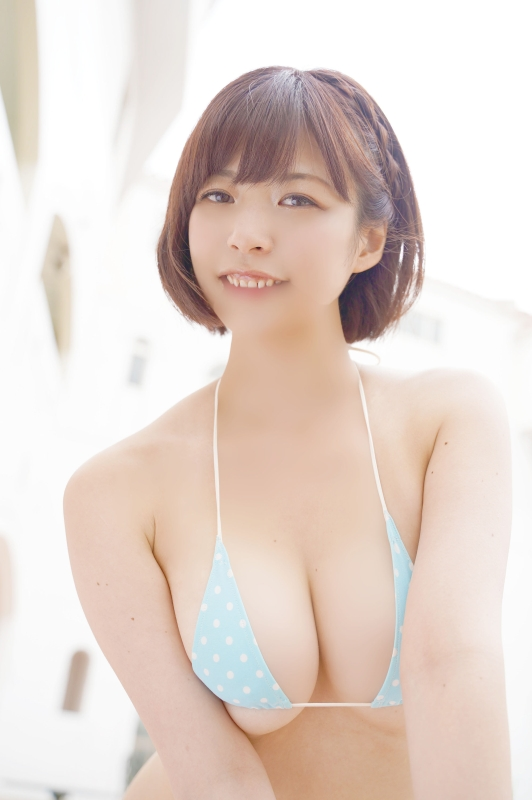 【月野夏海エロ画像】Gカップ巨乳の童顔系グラドルがセクシーに育ったね 22