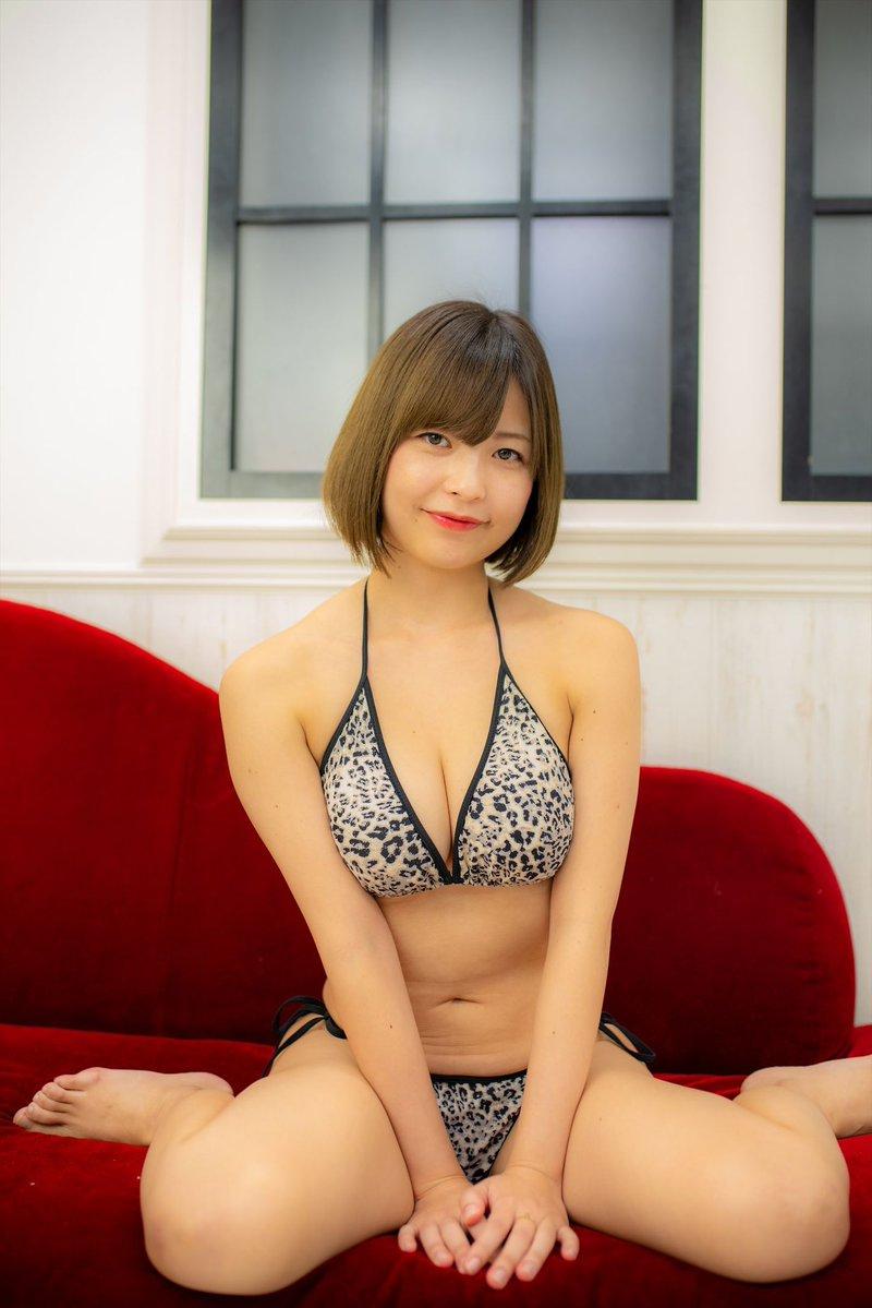 【月野夏海エロ画像】Gカップ巨乳の童顔系グラドルがセクシーに育ったね 37