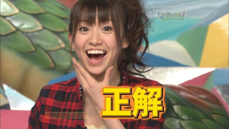 【大島優子キャプ画像】コリスの愛称で人気だった元AKB48アイドルのお宝画像 04