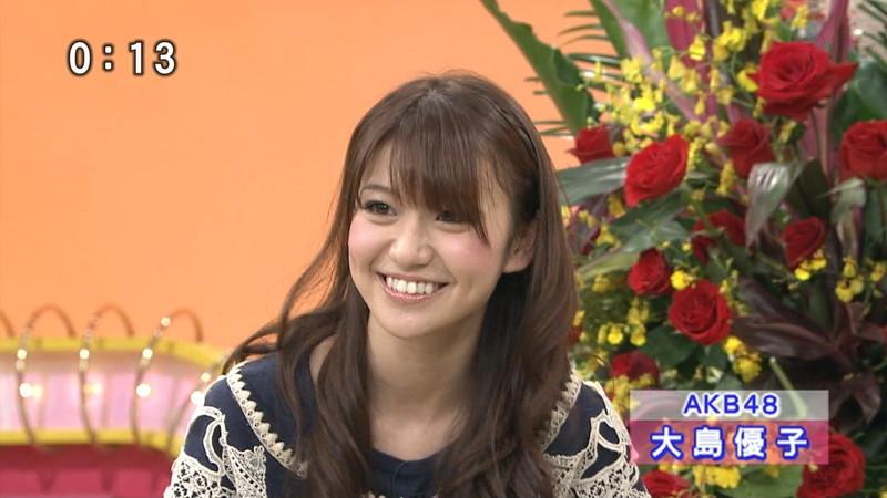 【大島優子キャプ画像】コリスの愛称で人気だった元AKB48アイドルのお宝画像 52