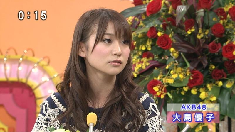 【大島優子キャプ画像】コリスの愛称で人気だった元AKB48アイドルのお宝画像 53