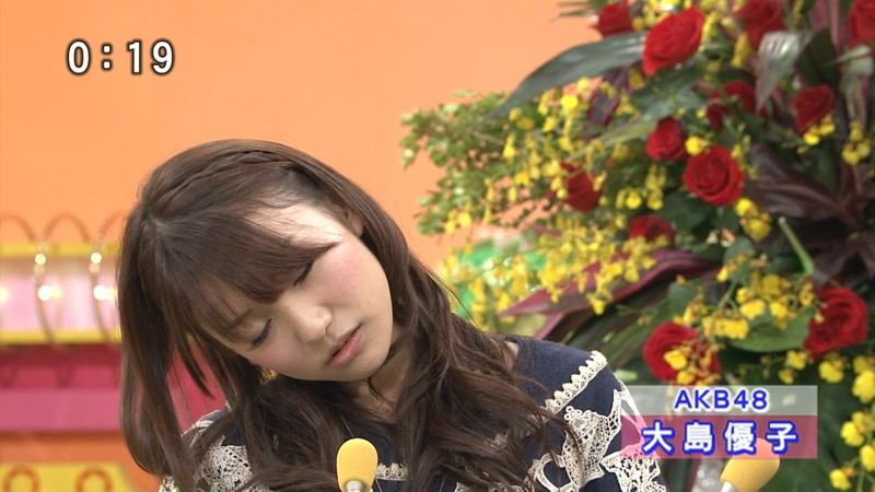 【大島優子キャプ画像】コリスの愛称で人気だった元AKB48アイドルのお宝画像 57
