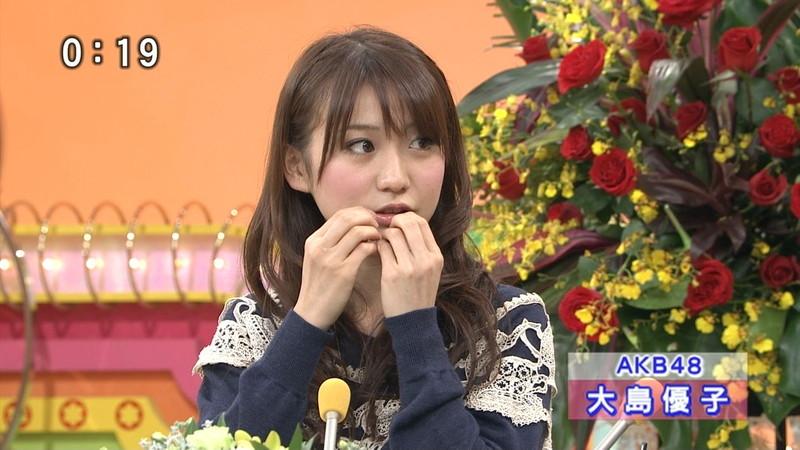 【大島優子キャプ画像】コリスの愛称で人気だった元AKB48アイドルのお宝画像 58