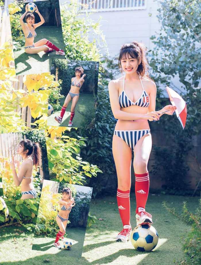 【安藤咲桜グラビア画像】釣りが出来る元アイドルのちょいエロ水着姿 14
