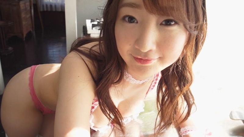 【愛森ちえキャプ画像】アイドルだけど谷間見せまくりのエッチな女の子