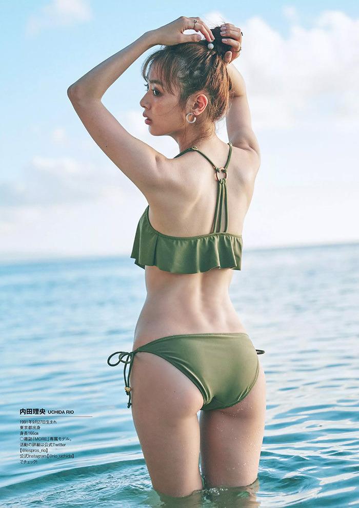 【内田理央グラビア画像】グラビア復帰したアラサー美人女優のエロボディ 11