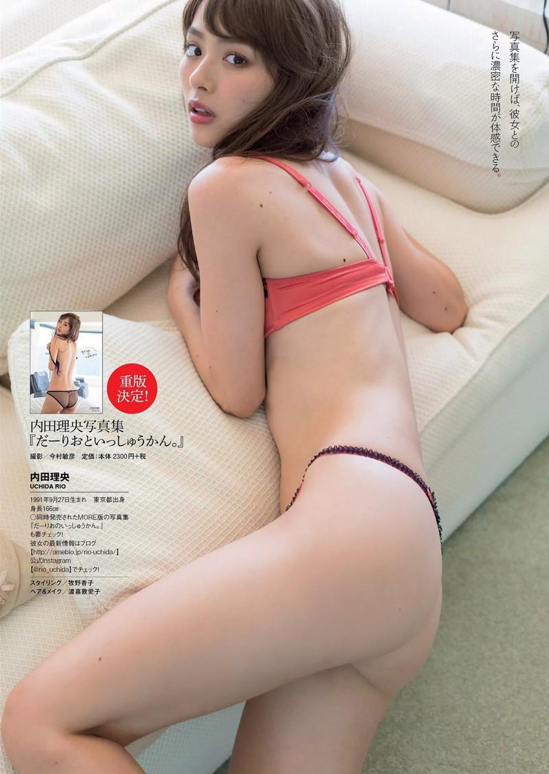 【内田理央グラビア画像】グラビア復帰したアラサー美人女優のエロボディ 39