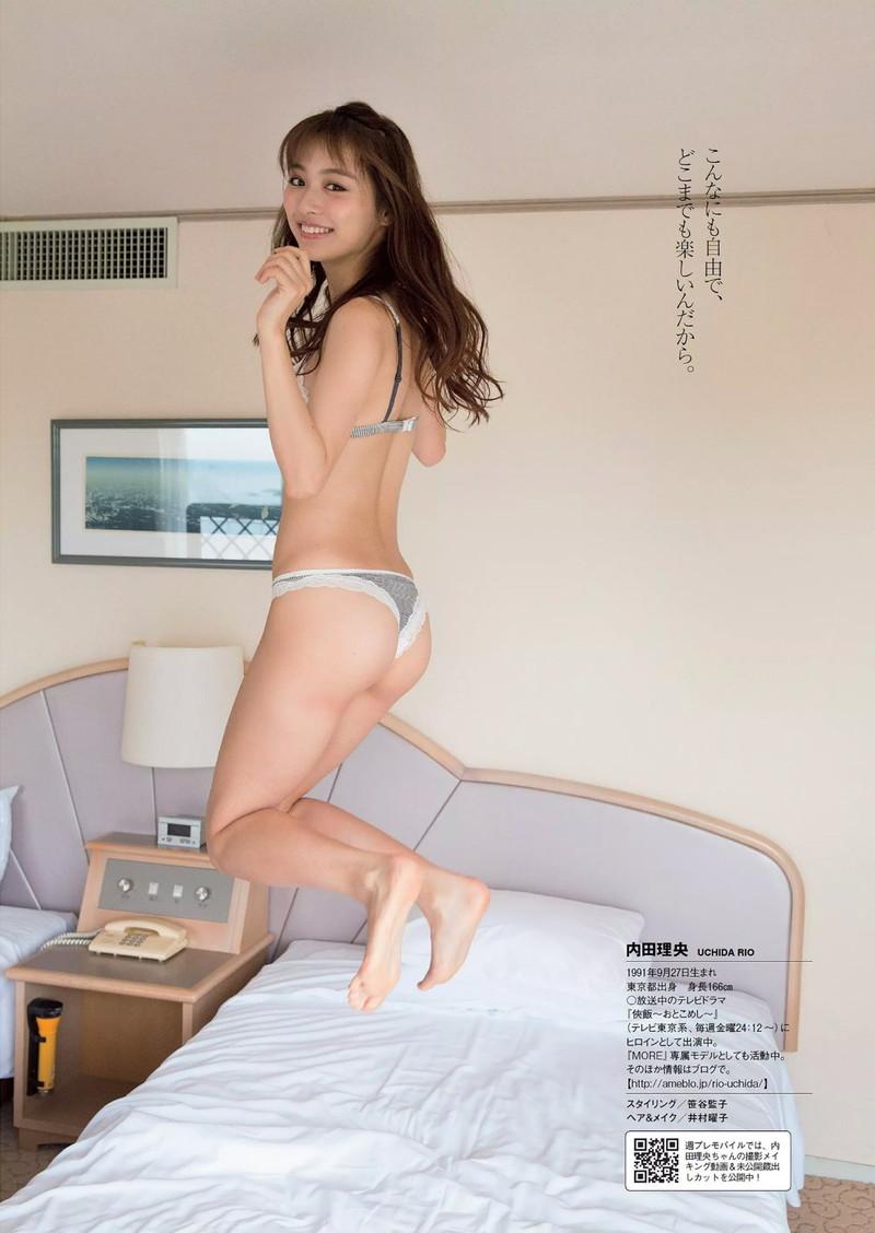 【内田理央グラビア画像】グラビア復帰したアラサー美人女優のエロボディ 40