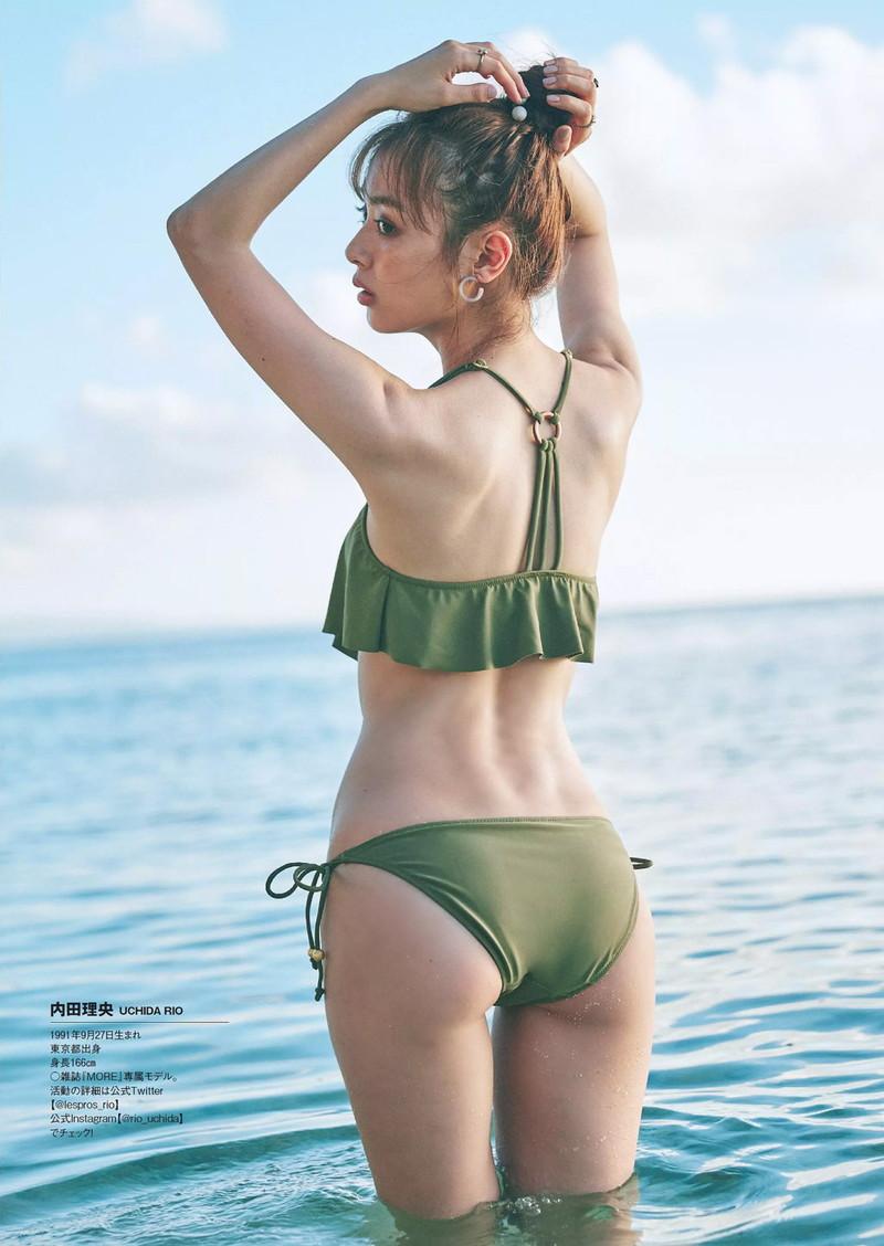 【内田理央グラビア画像】グラビア復帰したアラサー美人女優のエロボディ 41