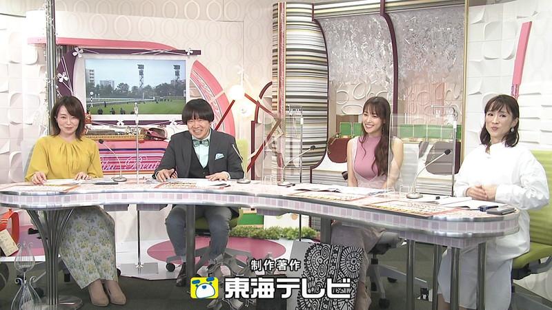 【女子アナキャプ画像】着衣オッパイや脇チラがエロいフリーアナウンサー 09