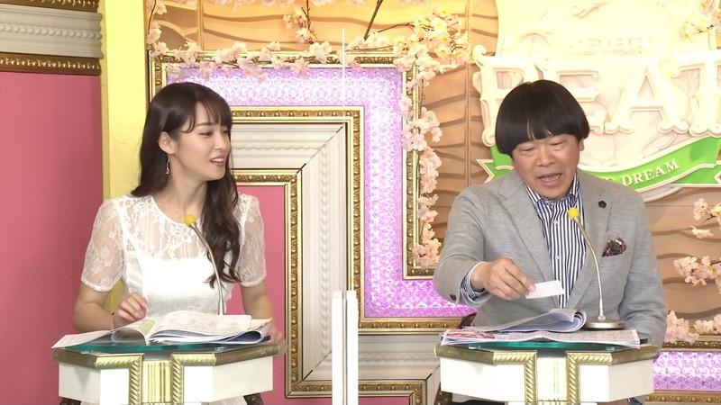 【女子アナキャプ画像】着衣オッパイや脇チラがエロいフリーアナウンサー 16
