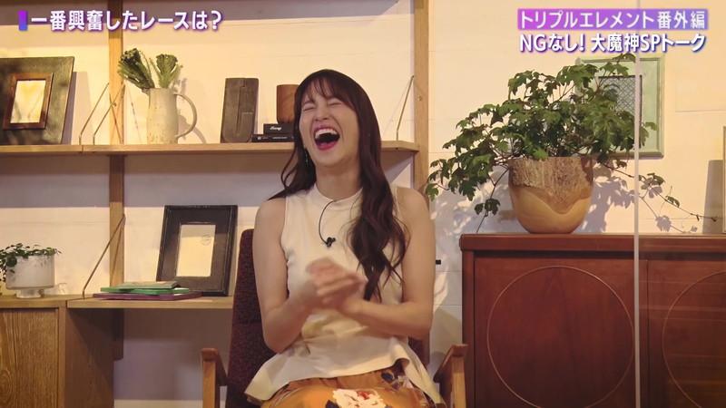 【女子アナキャプ画像】着衣オッパイや脇チラがエロいフリーアナウンサー 31