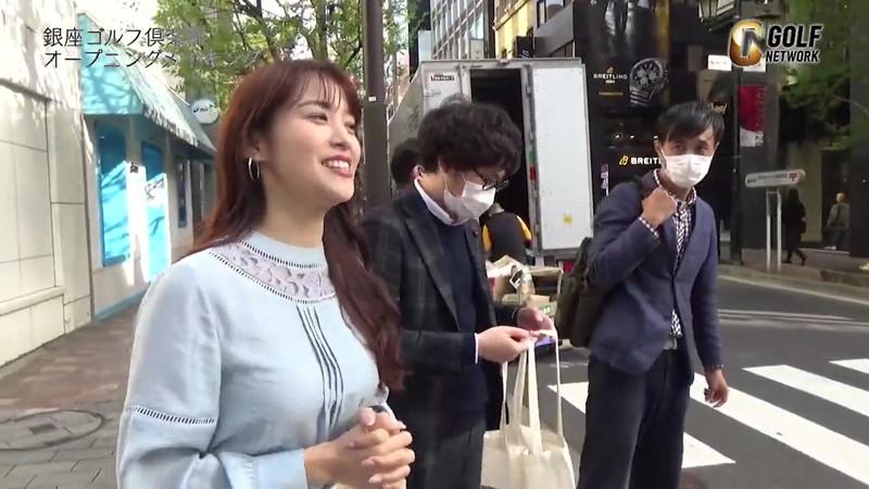 【女子アナキャプ画像】着衣オッパイや脇チラがエロいフリーアナウンサー 37