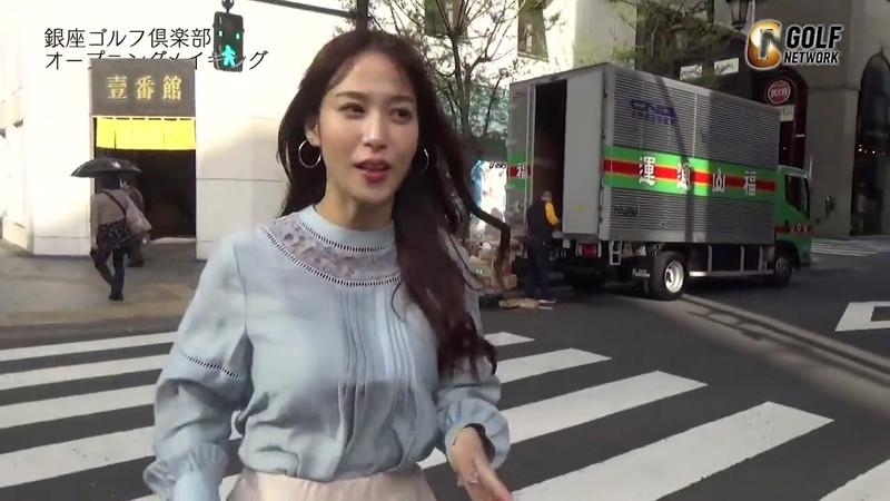 【女子アナキャプ画像】着衣オッパイや脇チラがエロいフリーアナウンサー 49