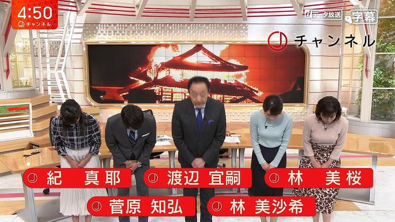 【女子アナキャプ画像】テレ朝の林美桜アナがグラビアデビューしたとかw 69