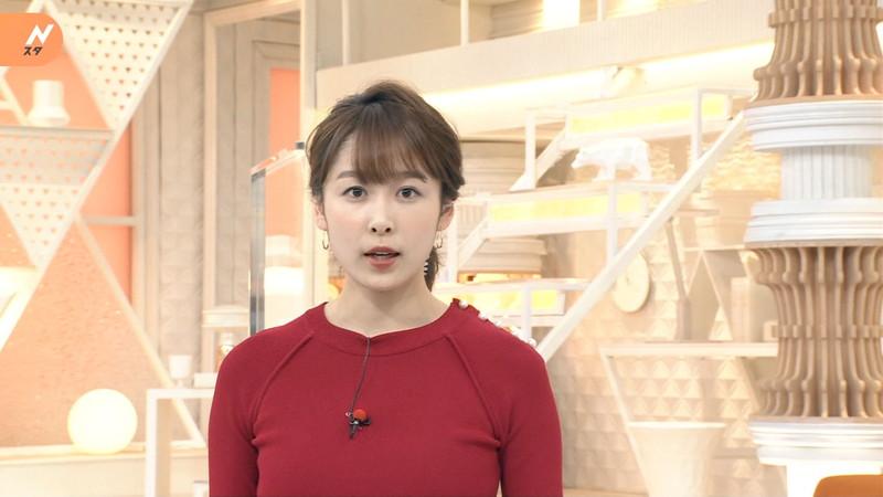 【女子アナキャプ画像】ニットおっぱいや食レボ等のちょっとエロいシーン 67