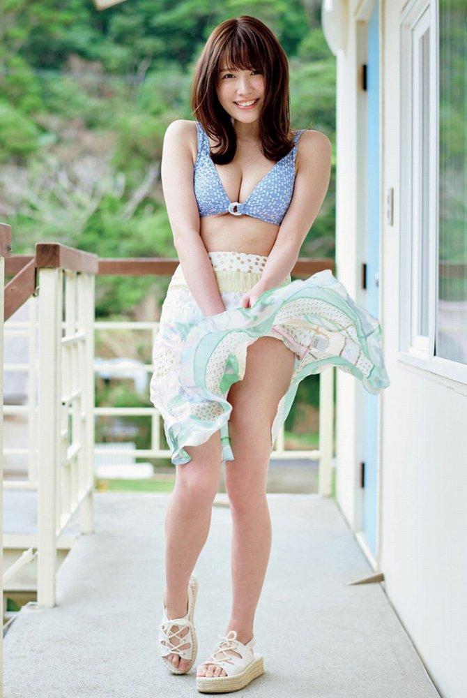 【小日向ゆかエロ画像】SNSで可愛すぎると話題になったFカップ美少女 32