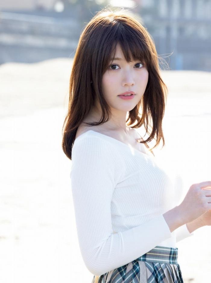 【小日向ゆかエロ画像】SNSで可愛すぎると話題になったFカップ美少女 48
