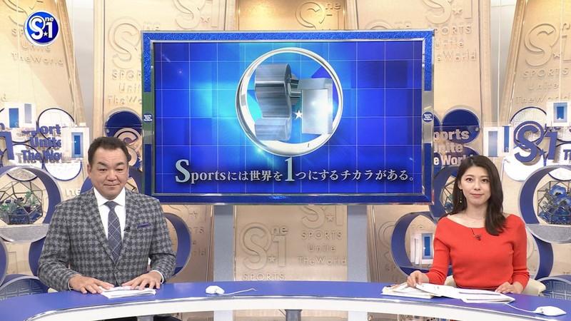【上村彩子キャプ画像】スケスケシースルーを見せつけるエロ女子アナwwww 28