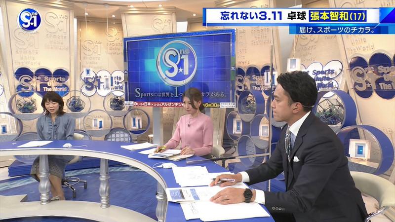 【上村彩子キャプ画像】スケスケシースルーを見せつけるエロ女子アナwwww 54