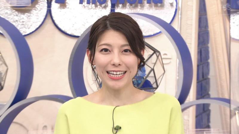 【上村彩子キャプ画像】スケスケシースルーを見せつけるエロ女子アナwwww 80