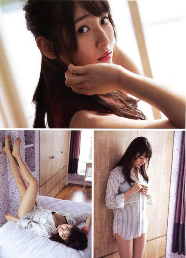 【栗原紗英グラビア画像】可愛さの中にセクシーさも混在しているアイドル 45
