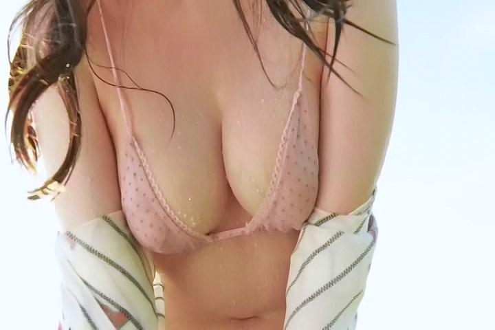 【岬愛奈キャプ画像】乳首丸見えヌードになっちゃったFカップグラドル 20