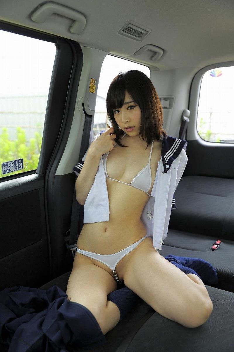 【逢坂愛エロ画像】まるで着エロイメージみたいに過激なグラビアアイドルがヌケる! 29
