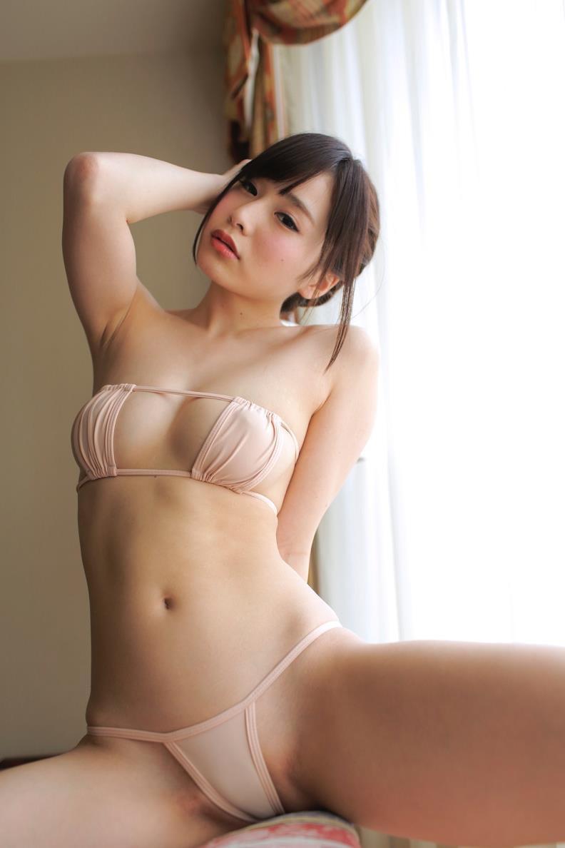 【逢坂愛エロ画像】まるで着エロイメージみたいに過激なグラビアアイドルがヌケる! 60