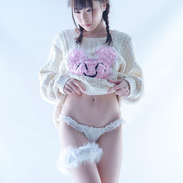 【逢坂愛エロ画像】まるで着エロイメージみたいに過激なグラビアアイドルがヌケる! 76