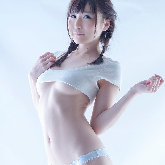 【逢坂愛エロ画像】まるで着エロイメージみたいに過激なグラビアアイドルがヌケる! 77