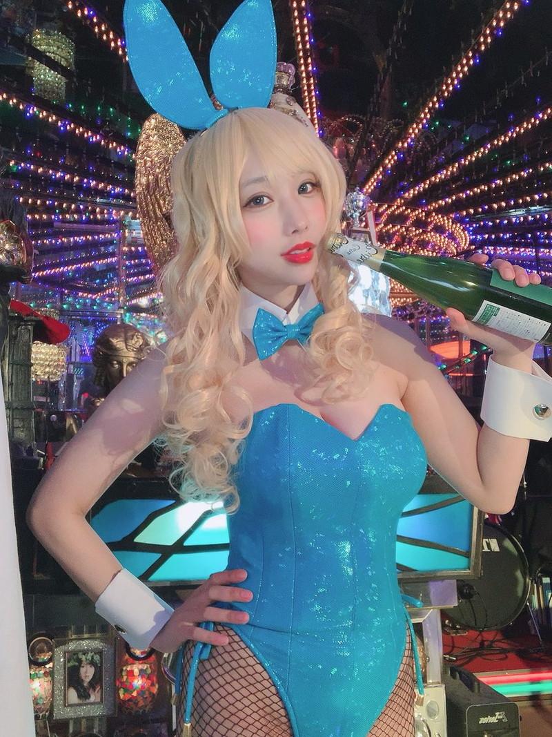 【花咲来夢エロ画像】スレンダー爆乳ボディがめちゃシコれるコスプレイヤー 66