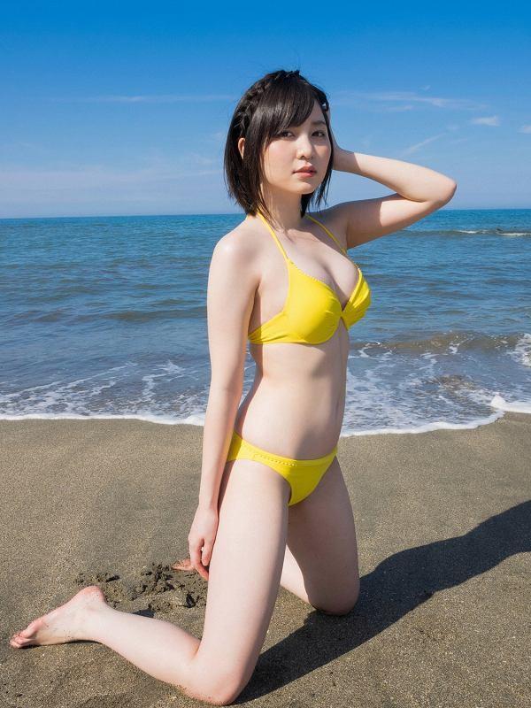 【岩田華怜グラビア画像】カワイイとセクシー両方持ってる元アイドルの水着姿 08